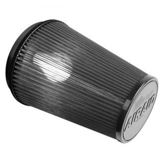 "AIRAID® - Race Day Oval Tapered Gray Air Filter with Oval Flange (5"" FIL x 3"" FIW x 5.625"" H x 6.75"" TOL x 4.75"" TOW x 4.25"" BOL x 3"" BOW)"