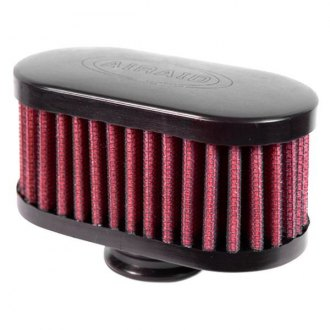 AIRAID® - Push-On Oval Straight Breather Filter