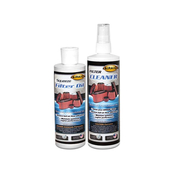 AIRAID® - Air Filter Renew Kit - 8 oz. Squeeze Oil, 12 oz. Cleaner