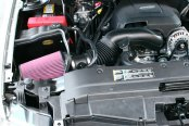 AIRAID® - Cold Air Dam Intake System with SynthaFlow® Red Air Filter