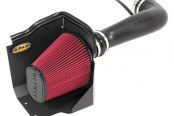 AIRAID® - Cold Air Dam Intake System with SynthaFlow® Red Air Filter and Black Intake Tube