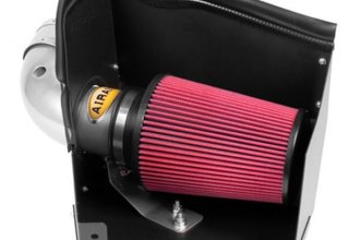AIRAID® 201-207 - Cold Air Dam Intake System with Red SynthaMax Air Filter and Intake Tube