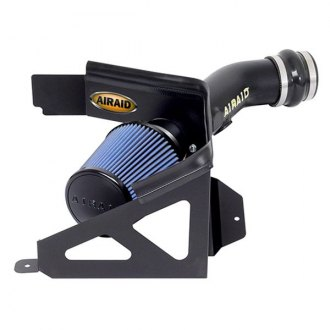AIRAID® - Dam High-Density Polyethylene Black Cold Air Intake System with Intake Tube with SynthaMax® Blue Filter
