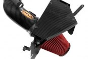 AIRAID® - Cold Air Dam Intake System with SynthaFlow® Red Air Filter and Carbon Fiber Hydro-Print Intake Tube