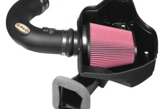 AIRAID® 251-243 - MXP Series Cold Air Dam Intake System with Red SynthaMax Air Filter and Intake Tube