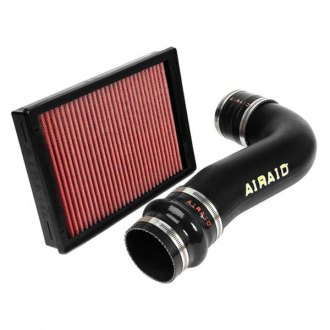AIRAID® - Jr. High-Density Polyethylene Black Short Ram Intake Kit with Red Filter