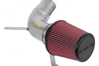 AIRAID® 301-107 - Classic Air Intake System with Red SynthaMax Air Filter and Intake Tube
