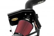 AIRAID® - QuickFit™ Air Intake System with SynthaMax® Red Air Filter and Black Intake Tube