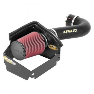 AIRAID® - QuickFit™ Air Intake System with SynthaFlow® Red Air Filter and Black Intake Tube
