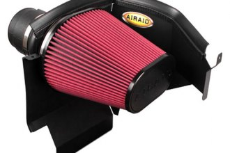 AIRAID® 350-210 - Cold Air Dam Intake System with Red SynthaFlow Air Filter and Intake Tube