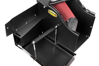 AIRAID® 400-246 - Cold Air Dam Intake System with Red SynthaFlow Air Filter and Intake Tube
