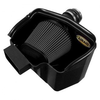 airaid mxp series dam high density polyethylene black cold air intake system without