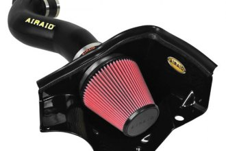 AIRAID® 451-172 - MXP Series Cold Air Dam Intake System with Red SynthaMax Air Filter and Intake Tube