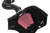 AIRAID® - MXP Series Cold Air Dam Intake System with SynthaMax® Red Air Filter and Black Intake Tube