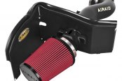 AIRAID® - Cold Air Dam Intake System with SynthaMax® Red Air Filter and Black Intake Tube