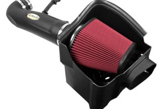 AIRAID® 521-284 - MXP Series Cold Air Dam Intake System with Red SynthaMax Air Filter and Intake Tube