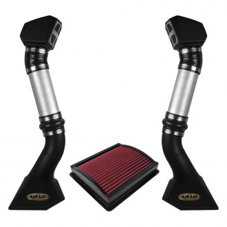 AIRAID® - Powersports High-Density Polyethylene Black Intake System with SynthaFlow® Red Filter