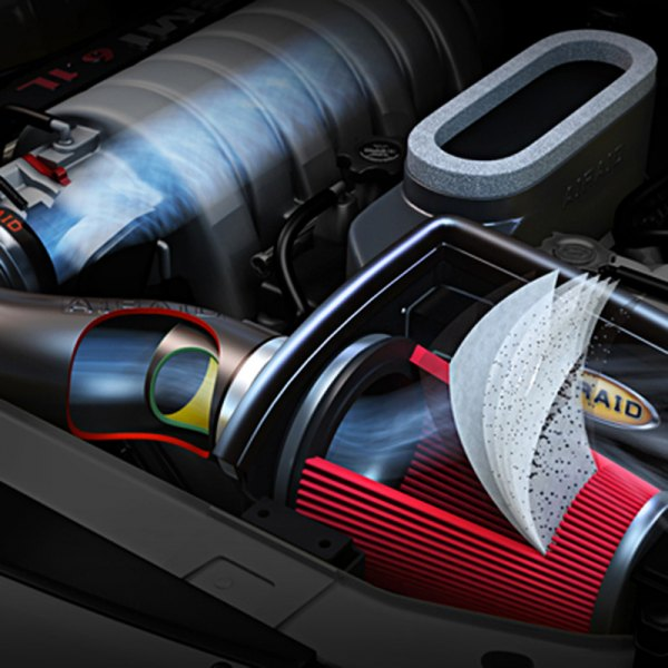 AIRAID® - Air Intake System Inside 3D View