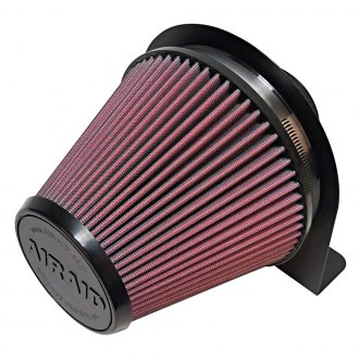 AIRAID® - Round Tapered Red Air Filter with Mount