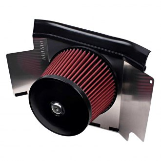 AIRAID® - Performance Passenger Side Mount Round Red Air Filter Housing