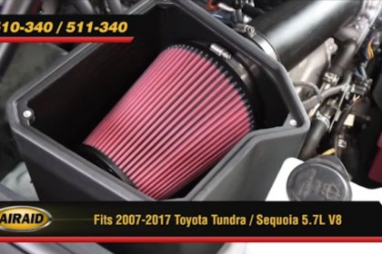 510-340 - AIRAID® MXP Series Dam Air Intake System Video