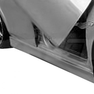 AIT Racing® - EVO4 Style Fiberglass Side Skirts (Unpainted)
