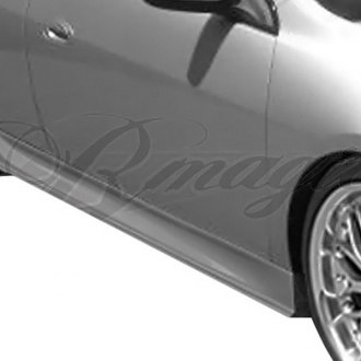 AIT Racing® - GL Style Fiberglass Side Skirts (Unpainted)