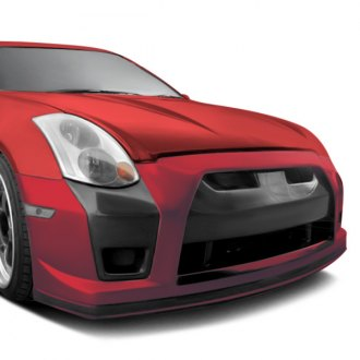 AIT Racing® - GTR Style Carbon Fiber Front Bumper Cover Center Add-On