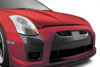 AIT Racing® - GTR Style Carbon Fiber Front Bumper Cover Add-Ons