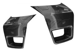 AIT Racing® - GTR Style Carbon Fiber Front Bumper Cover Side Add-Ons