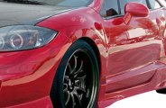 AIT Racing® - Black Out 2 Style Side Skirts