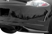AIT Racing® - Black Out Style Rear Bumper Cover