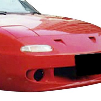 AIT Racing® - RE Style Fiberglass Front Bumper Cover (Unpainted)