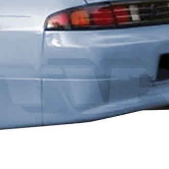 AIT Racing® - SMO Style Fiberglass Rear Bumper Cover (Unpainted)