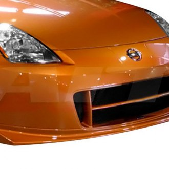 AIT Racing® - SMO2 Style Fiberglass Front Bumper Cover (Unpainted)