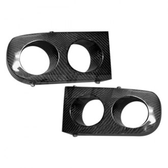 AIT Racing® - FAB2 Style Fiberglass Fog Light Housings (Unpainted)