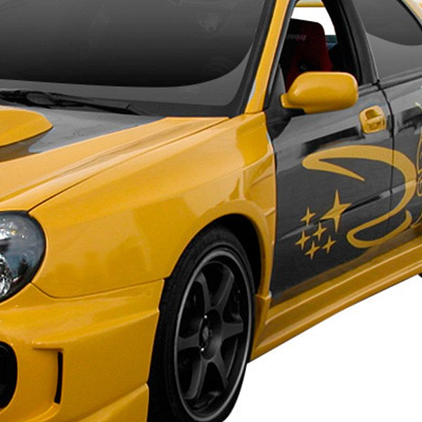 AIT Racing® - CS Style Fiberglass Side Skirts