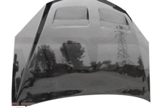 AIT Racing® PG605BMGXPFHW - CPT Style Fiberglass Functional Cooling Hood