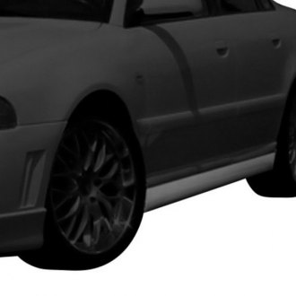 AIT Racing® - RS4 Style Fiberglass Side Skirts (Unpainted)