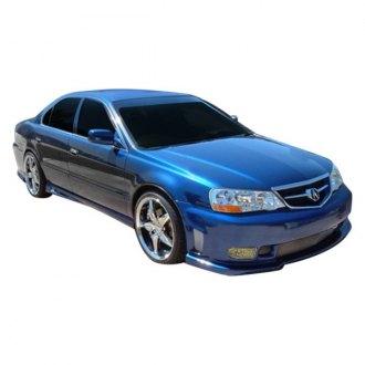 Acura TL Custom Bumpers Valances CARiDcom - 2003 acura tl front bumper