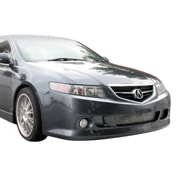 AIT Racing Acura TSX Sedan KS Style Fiberglass Front And - Acura tsx bumper