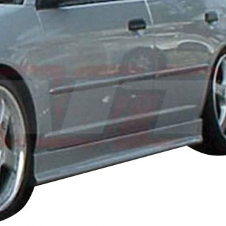 AIT Racing® - EVO3 Style Fiberglass Side Skirts (Unpainted)