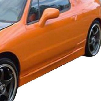 AIT Racing® - BC Style Fiberglass Side Skirts (Unpainted)