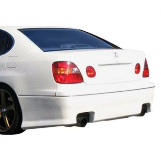 AIT Racing® - REV Style Fiberglass Rear Bumper Cover (Unpainted)