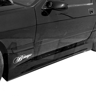 AIT Racing® - D1 Style Fiberglass Side Skirts (Unpainted)