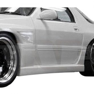 AIT Racing® - G4 Style Fiberglass Side Skirts (Unpainted)