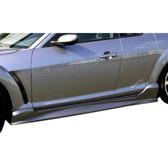 AIT Racing® - ABF Style Fiberglass Side Skirts (Unpainted)