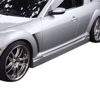 AIT Racing® - I-Spec Style Fiberglass Side Skirts (Unpainted)