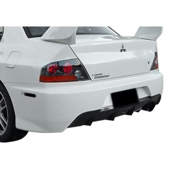 AIT Racing® - MR Style Fiberglass Rear Bumper Cover (Unpainted)