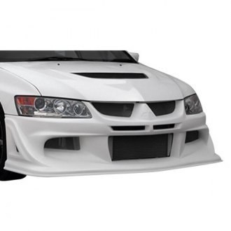 AIT Racing® - VS Style Fiberglass Bumper Covers (Unpainted)